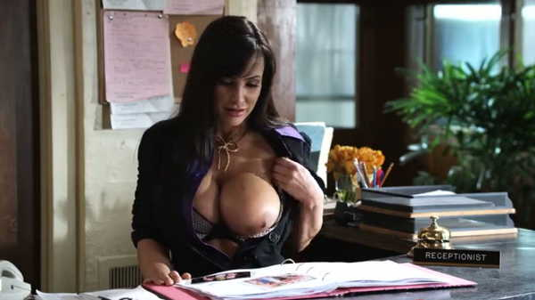 Porn video Bad guy fucks the receptionist. Lisa Ann