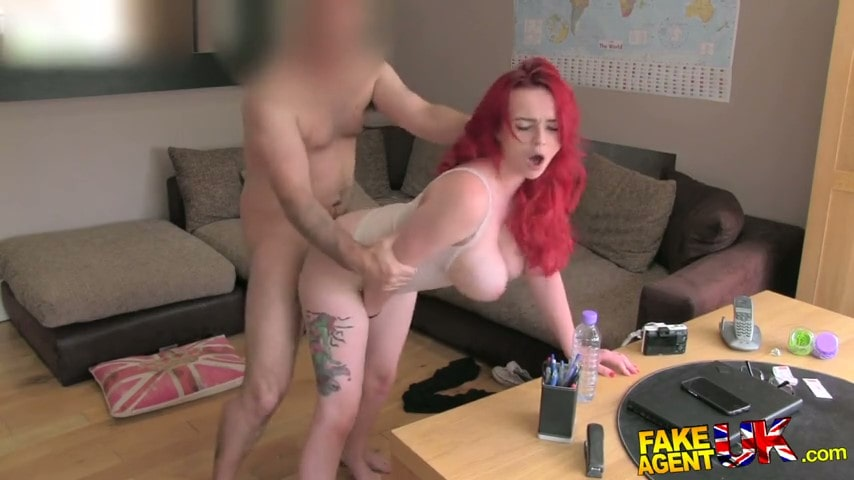 Porn video Beauty with fiery hair Jasmine James at the casting. Jasmine James