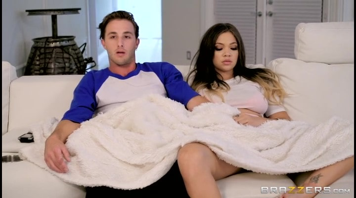 Porn video Cheated on her boyfriend with his best friend. Cassidy Banks
