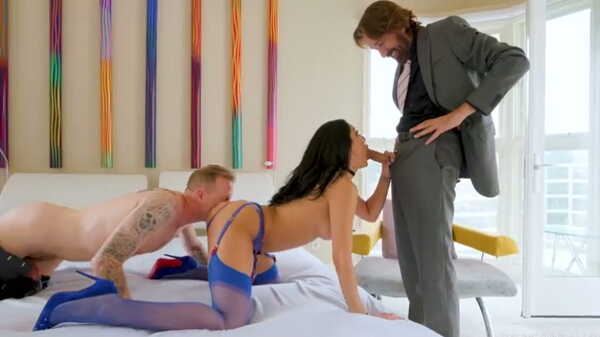 Porn video Chloe Amour Double Penetration. Chloe Amour