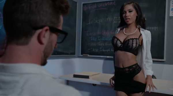 Classes with a sexy teacher.