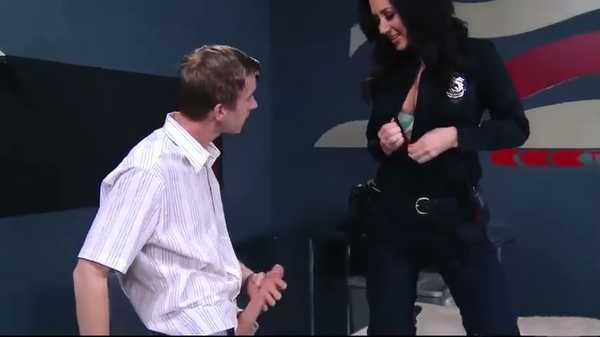 Porn video Female cop Jayden Jaymes fucks a man who breaks the law. Jayden Jaymes, Danny D