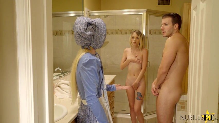 Porn video Fucked his girlfriend in front of the maid. Kate Bloom