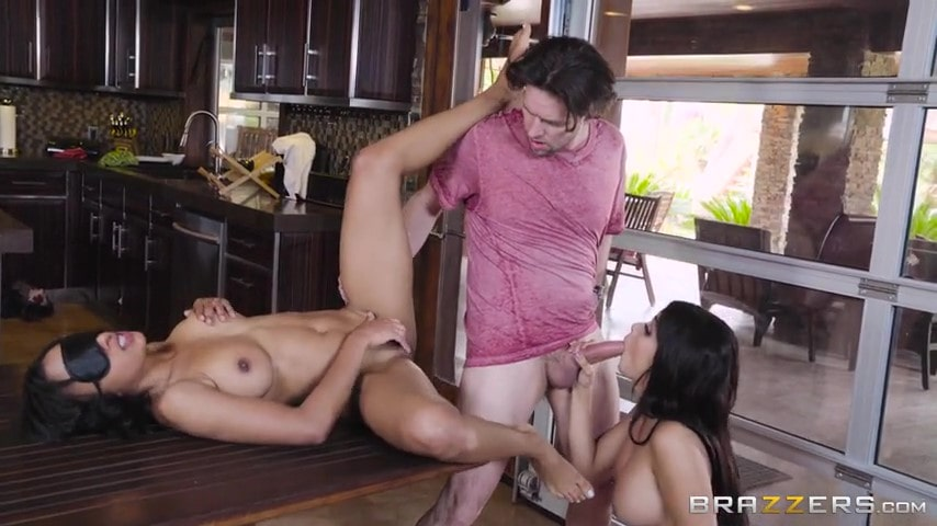 Porn video Fucked two sisters Aaliyah Hadid and Anya Ivy. Aaliyah Hadid, Anya Ivy