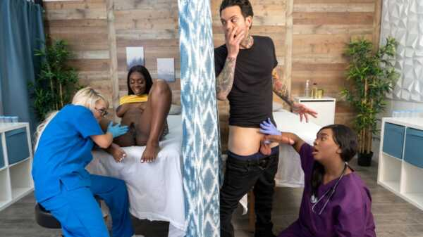 Porn video Fucking The Fertility Clinic Nurses. Part 1.  Small Hands, Tori Montana, Barbie Crystal, Ava Sinclaire