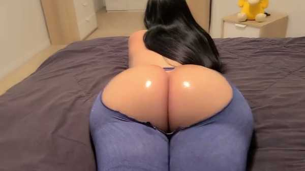 Porn video Hot brunette shaking her big ass. Crystal Lust