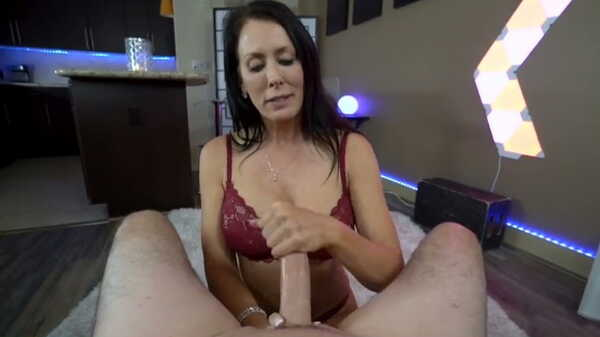Porn video POV blowjob from hot MILF Reagan Foxx. Reagan Foxx