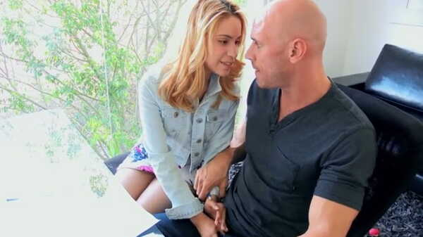Porn video She seduced her English tutor. Johnny Sins