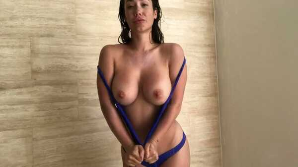 Porn video Shower sex with hot brunette Eva Lovia. Eva Lovia