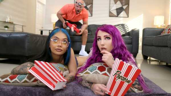 Porn video Va-Cumming. Val Steele, Paisley Paige