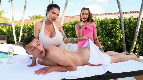 Porn video Why Don-t We Tag Team Your GF.  Joslyn James, Bailey Base